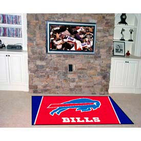 "Buffalo Bills Rug 4 x 6 46"" x 72"""