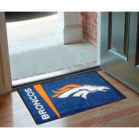 """Denver Broncos Starter Rug 20"""" x 30"""""""