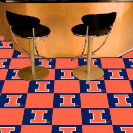 """Illinois Carpet Tiles 18"""" x 18"""" Tiles"""