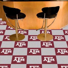 """Texas A&M Carpet Tiles 18"""" x 18"""" Tiles"""