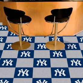 "New York Yankees Carpet Tiles 18"" x 18"" Tiles"