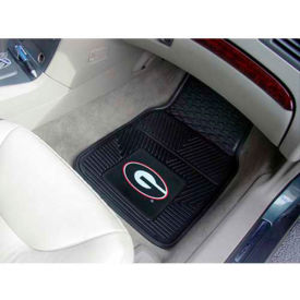 "University of Georgia - Heavy Duty Vinyl 2 Piece Car Mat Set 17""W x 27""L - 8746"