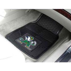 """Notre Dame - Heavy Duty Vinyl 2 Piece Car Mat Set 17""""W x 27""""L - 8749"""