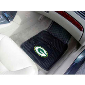 "NFL - Green Bay Packers - Heavy Duty Vinyl 2 Piece Car Mat Set 17""W x 27""L - 8756"