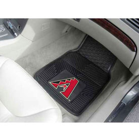 "MLB - Arizona Diamondbacks - Heavy Duty Vinyl 2 Piece Car Mat Set 17""W x 27""L - 8830"