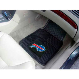 "NFL - Buffalo Bills - Heavy Duty Vinyl 2 Piece Car Mat Set 17""W x 27""L - 8887"
