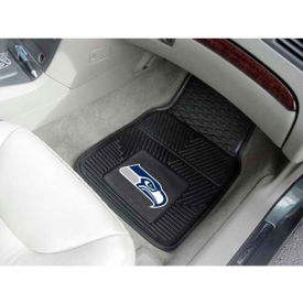 "NFL - Seattle Seahawks - Heavy Duty Vinyl 2 Piece Car Mat Set 17""W x 27""L - 8904"