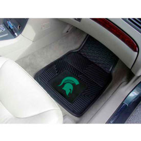 "Michigan State University - Heavy Duty Vinyl 2 Piece Car Mat Set 17""W x 27""L - 8918"