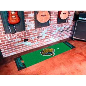 """Jacksonville Jaguars Putting Green Runner 18"""" x 72"""""""