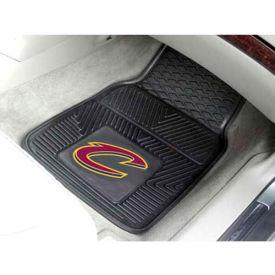 "NBA - Cleveland Cavaliers - Heavy Duty Vinyl 2 Piece Car Mat Set 17""W x 27""L - 9234"