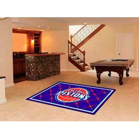 "Detroit Pistons Rug 5 x 8 60"" x 92"""