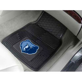 "NBA - Memphis Grizzlies - Heavy Duty Vinyl 2 Piece Car Mat Set 17""W x 27""L - 9310"