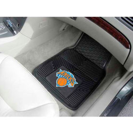 "NBA - New York Knicks - Heavy Duty Vinyl 2 Piece Car Mat Set 17""W x 27""L - 9358"