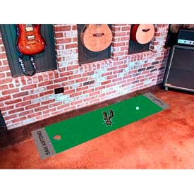 "San Antonio Spurs Putting Green Runner 18"" x 72"""