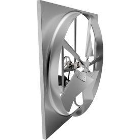 """Fantech 30"""" Standard Duty Axial Wall Fan Kit 1SDE30DX, 1/2 HP, 115V, 3 PH, 8585 CFM"""
