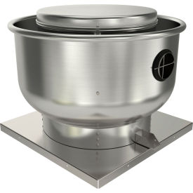 "Fantech 16"" Roof Ventilator Direct Drive Upblast 5DDU16DB, 1/2 HP, 115/230V, 1 PH, 2964 CFM, ODP"