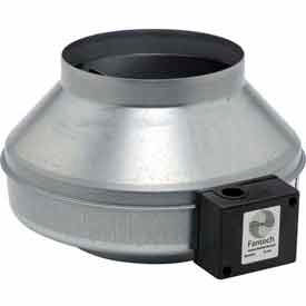 """8"""" In-Line Duct Fan With Metal Housing 461 CFM"""