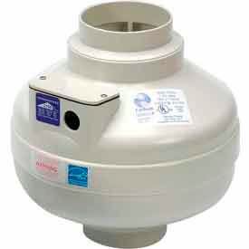 """Inline Centrifugal 4"""" Duct Fan Molded Housing - 167 CFM"""