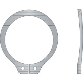 """5/8"""" Bowed External Snap Ring - Standard Duty - Stamped - 15-7/17-7 Stainless Steel - Pkg of 14"""