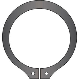11mm External Snap Ring - Standard Duty - Stamped - Spring Steel - DIN 471 - USA - Pkg of 890