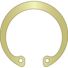 "3/8"" Internal Housing Ring - Stamped - Spring Steel - Zinc Yellow - USA - Pkg of 400"