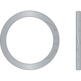 "1"" External Spiral Ring - Standard Duty - Stainless Steel - USA - Pkg of 95"