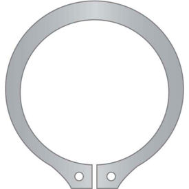 "27/32"" External Snap Ring - Standard Duty - Stamped - 15-7/17-7 Stainless Steel - USA - Pkg of 12"