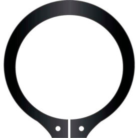 "2-1/8"" External Snap Ring - Standard Duty - Stamped - Spring Steel - USA - Pkg of 35"