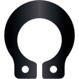 "1/4"" Grooveless External Snap Ring - Standard Duty - Stamped - Spring Steel - USA - Pkg of 480"