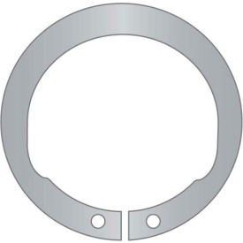 "1-1/4"" Inverted External Snap Ring - Standard Duty - Stamped - 15-7/17-7 Stainless Steel - Pkg of 4"