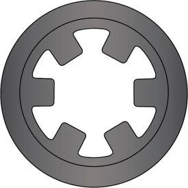"1"" Reinforced External Push-On Ring - .015 Thick - Stamped - Spring Steel - USA - Pkg of 300"