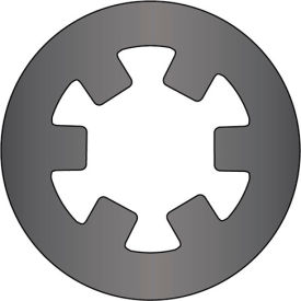 "1"" External Push-On Ring - Stamped - Spring Steel - USA - Pkg of 210"
