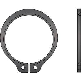 "2-5/32"" Beveled External Snap Ring - Standard Duty - Stamped - Spring Steel - USA - Pkg of 30"