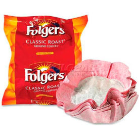 Folgers® Filter Packs Coffee, Regular, 0.9 oz., 40/Carton
