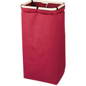 Forbes Heavy Duty Poly-Vinyl Short Bag, Burgundy - 43-BU - Pkg Qty 6