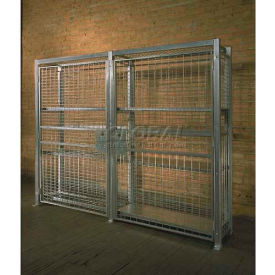 """Stor-More® Loss Prevention Security Cabinet/Locker 94""""W X 40""""D X 72""""H W/Hinged Double Door"""
