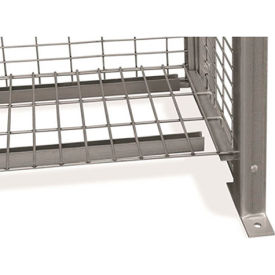 """Stor-More® Loss Prevention Security Cabinet/Locker Welded Wire Removable Shelf 4ga. 44"""" X 14"""""""
