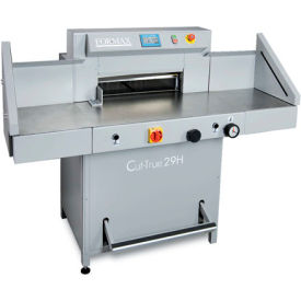 Formax® Cut-True Fully-Automatic Hydraulic Guillotine Paper Cutter