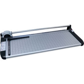 "United Rotary Paper Trimmer - 26"" Cutting Length - 15 Sheet Capacity - Gray"