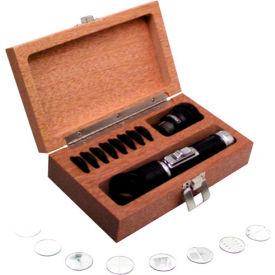 Fowler 52-664-609 52-664-609 10x Pocket Optical Comparator Set with Illuminator