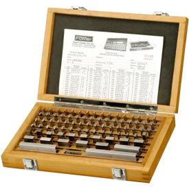 Fowler 53-672-081 Shop-Blox Rectangular Gage Block Set - 81 Piece