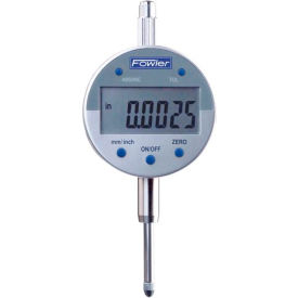 "Fowler 54-520-250 Indi-X Blue Series 0-1""/ 0-25MM Electronic Indicator W/ Lug Back"