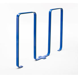 Linguini 5 Bike Capacity Steel Bike Rack, Blue