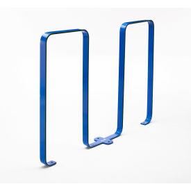 Linguini 5 Bike Capacity Steel Bike Rack, Blue