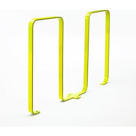 Linguini 5 Bike Capacity Steel Bike Rack, Yellow