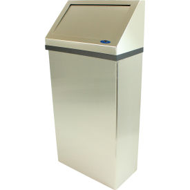 Garbage Can Amp Recycling Steel Indoor Frost Wall