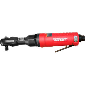 """AIRCAT 803-RW 3/8"""" Reaction-Less Ratchet 600RPM Red by"""