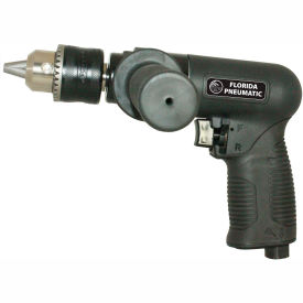 """Florida Pneumatic FP-986, 1/2"""" Pistol Air Drill, 0.75 HP, 450 RPM, 4 CFM, Reversible, 90 PSI"""