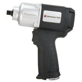 "Universal Tool UT8085P, 3/8"" Impact, 12000 RPM, Handle Exhaust, Spring Pin"