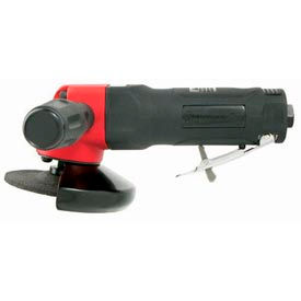"""Universal Tool UT8775-1, 4"""" Angle Grinder, 10000 RPM, Rear Exhaust, 0.9 HP"""